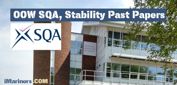 OOW SQA Stability Past Paper