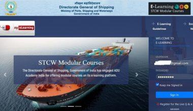 DG Shipping ELearning STCW Module