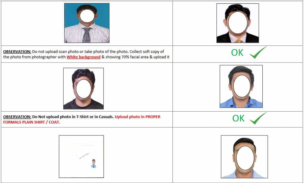 Upload Profile Photo in DG Shipping