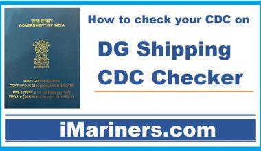 DG Shipping CDC Checker