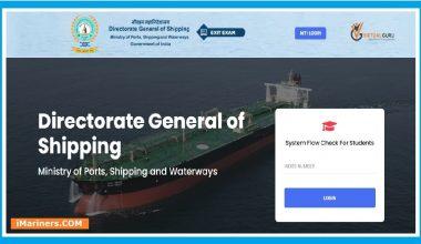 DG Shipping EXIT Exam